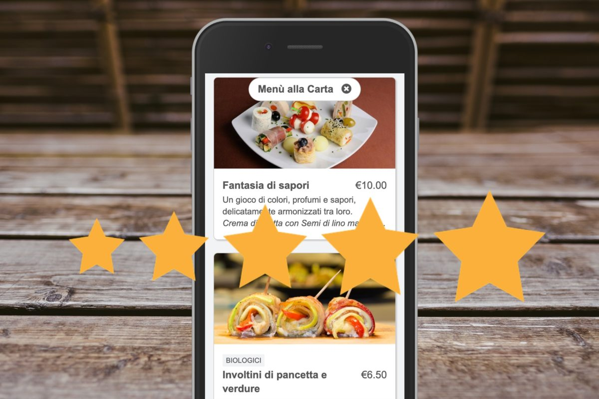 Reasons to choose BuonMenu, the digital menu on the user smartphone