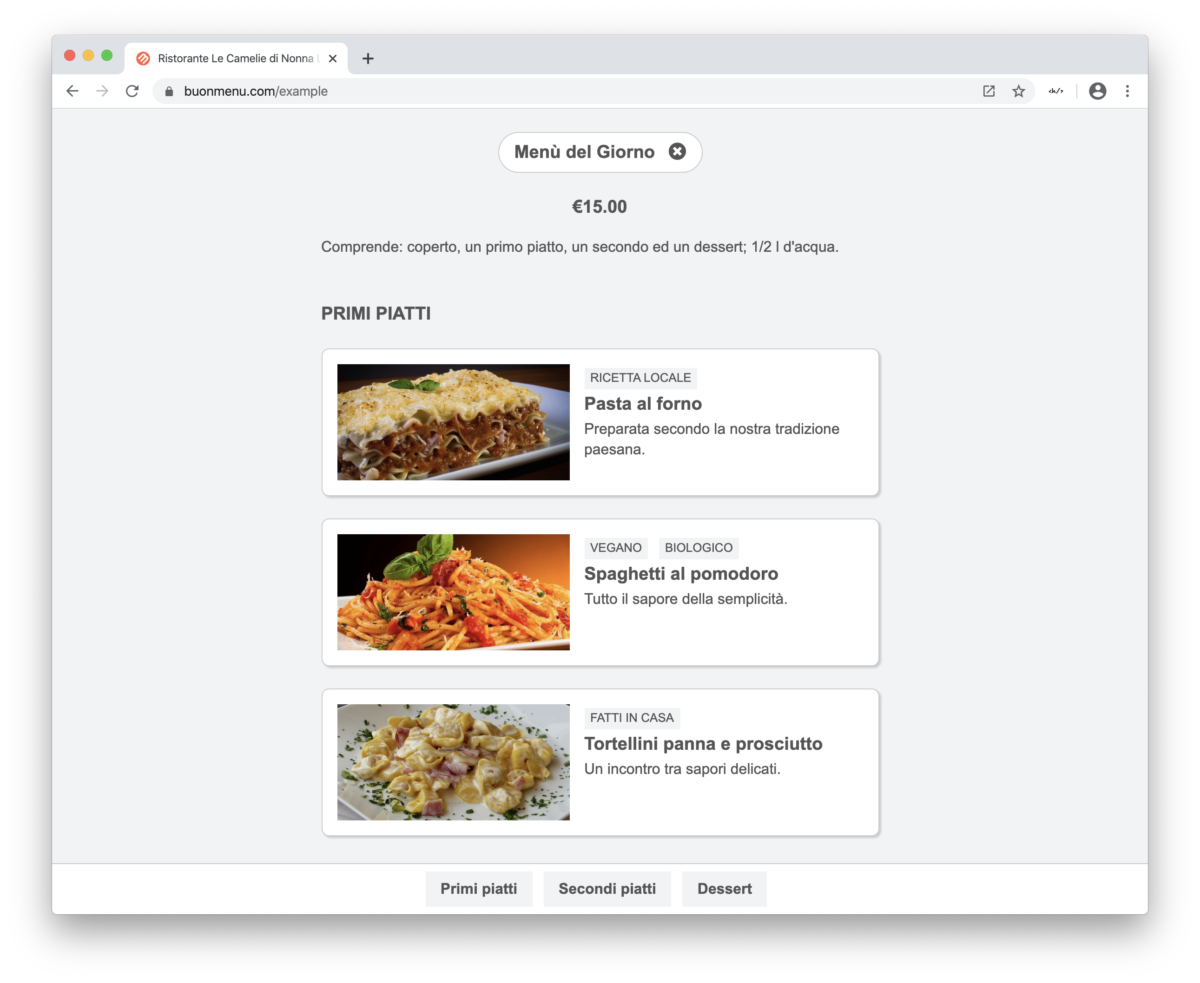 You must absolutely publish your restaurant menu online