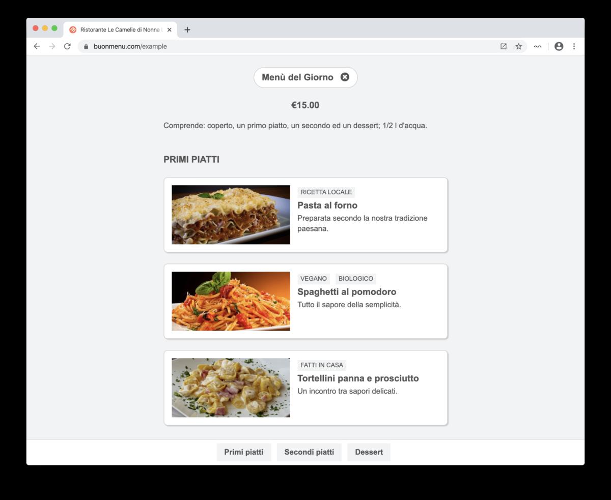 Devi assolutamente pubblicare il menu del tuo ristorante online