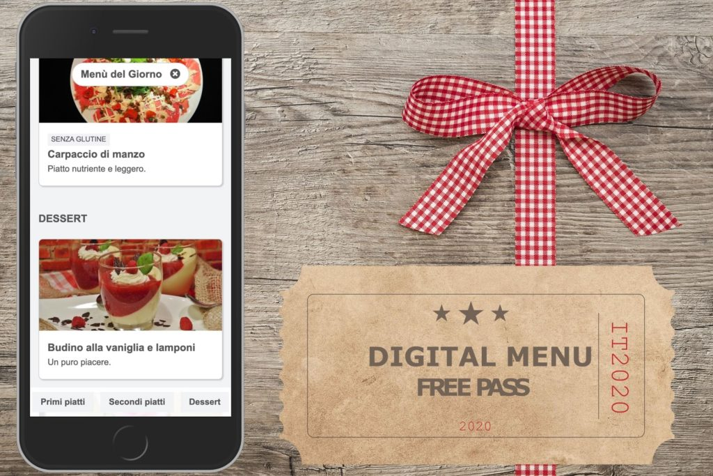 Free digital menu
