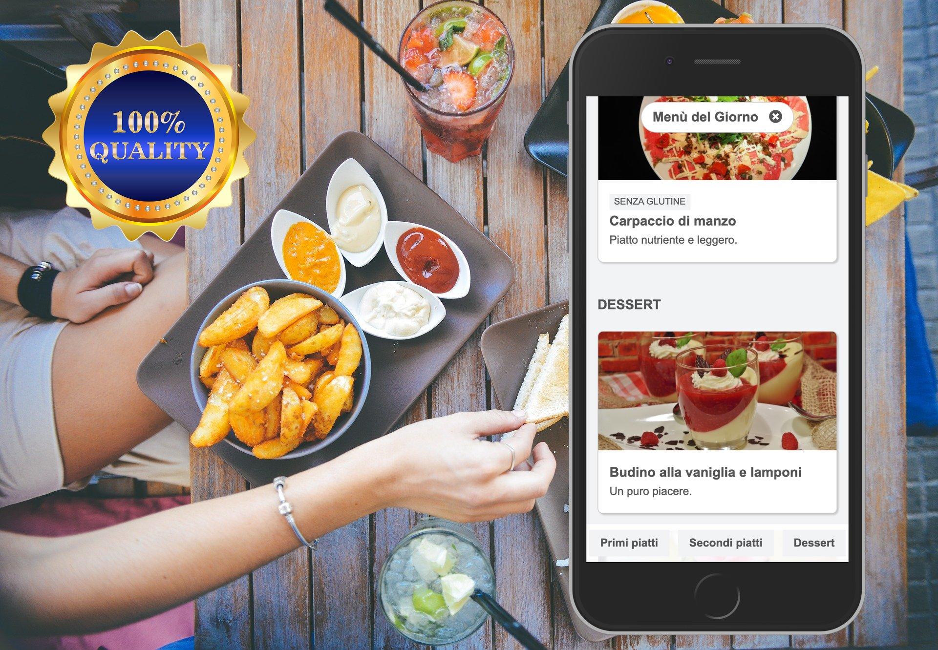 Digital menu quality