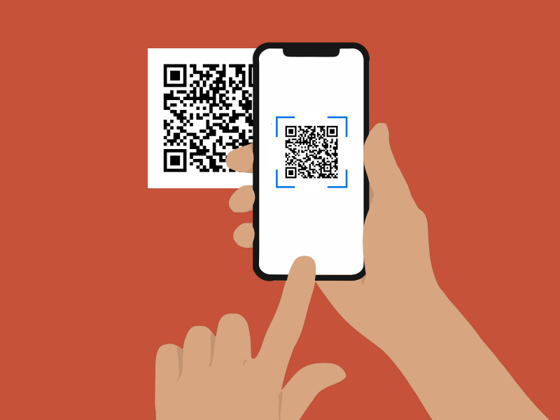How to scan a QR code and open the restaurant menu